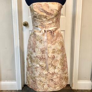 Ann Taylor Strapless Slik Lined Dress - 2